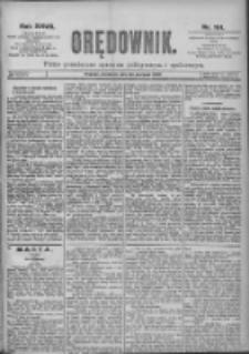 Orędownik: pismo dla spraw politycznych i spółecznych 1897.08.22 R.27 Nr191