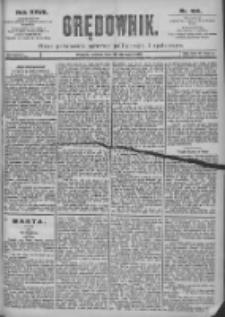 Orędownik: pismo dla spraw politycznych i spółecznych 1897.08.28 R.27 Nr196