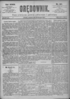 Orędownik: pismo dla spraw politycznych i spółecznych 1897.08.29 R.27 Nr197