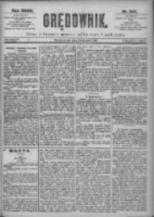 Orędownik: pismo dla spraw politycznych i spółecznych 1897.09.08 R.27 Nr205