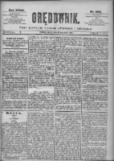 Orędownik: pismo dla spraw politycznych i spółecznych 1897.09.10 R.27 Nr206