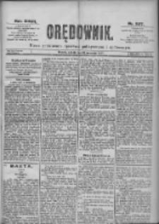 Orędownik: pismo dla spraw politycznych i spółecznych 1897.09.11 R.27 Nr207