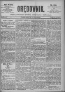 Orędownik: pismo dla spraw politycznych i spółecznych 1897.09.14 R.27 Nr209