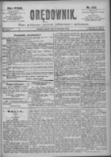 Orędownik: pismo dla spraw politycznych i spółecznych 1897.09.18 R.27 Nr213