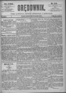 Orędownik: pismo dla spraw politycznych i spółecznych 1897.09.19 R.27 Nr214