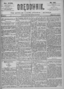 Orędownik: pismo dla spraw politycznych i spółecznych 1897.09.22 R.27 Nr216