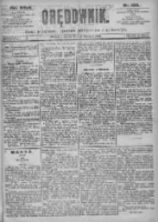 Orędownik: pismo dla spraw politycznych i spółecznych 1897.09.26 R.27 Nr220