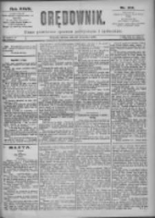 Orędownik: pismo dla spraw politycznych i spółecznych 1897.09.28 R.27 Nr221
