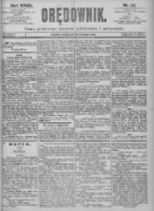 Orędownik: pismo dla spraw politycznych i spółecznych 1897.09.29 R.27 Nr222