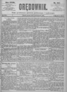 Orędownik: pismo dla spraw politycznych i spółecznych 1897.10.05 R.27 Nr227