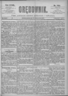 Orędownik: pismo dla spraw politycznych i spółecznych 1897.10.12 R.27 Nr233