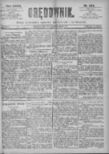 Orędownik: pismo dla spraw politycznych i spółecznych 1897.10.13 R.27 Nr234