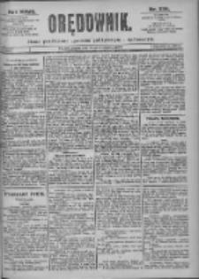 Orędownik: pismo dla spraw politycznych i spółecznych 1897.10.15 R.27 Nr236