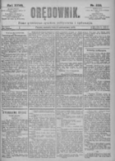 Orędownik: pismo dla spraw politycznych i spółecznych 1897.10.17 R.27 Nr238