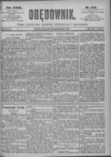 Orędownik: pismo dla spraw politycznych i spółecznych 1897.10.20 R.27 Nr240