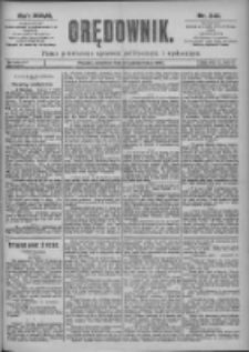 Orędownik: pismo dla spraw politycznych i spółecznych 1897.10.21 R.27 Nr241