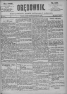 Orędownik: pismo dla spraw politycznych i spółecznych 1897.10.23 R.27 Nr243
