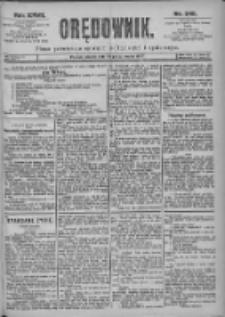 Orędownik: pismo dla spraw politycznych i spółecznych 1897.10.26 R.27 Nr245