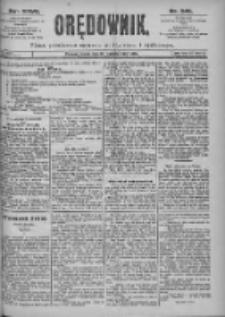 Orędownik: pismo dla spraw politycznych i spółecznych 1897.10.27 R.27 Nr246