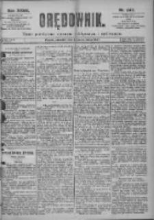 Orędownik: pismo dla spraw politycznych i spółecznych 1897.10.28 R.27 Nr247