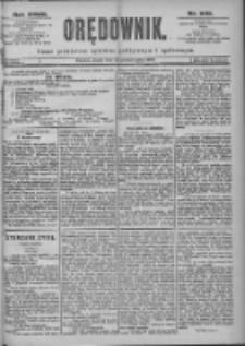 Orędownik: pismo dla spraw politycznych i spółecznych 1897.10.29 R.27 Nr248
