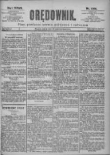 Orędownik: pismo dla spraw politycznych i spółecznych 1897.10.30 R.27 Nr249