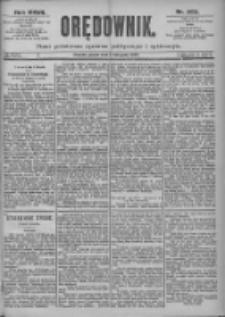 Orędownik: pismo dla spraw politycznych i spółecznych 1897.11.05 R.27 Nr253