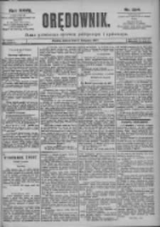 Orędownik: pismo dla spraw politycznych i spółecznych 1897.11.06 R.27 Nr254