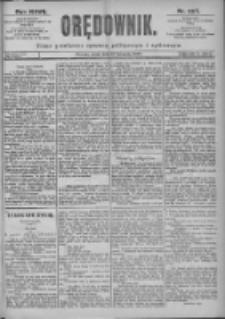Orędownik: pismo dla spraw politycznych i spółecznych 1897.11.10 R.27 Nr257