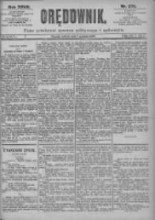 Orędownik: pismo dla spraw politycznych i spółecznych 1897.12.07 R.27 Nr279