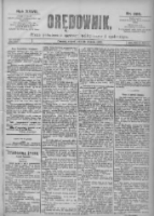Orędownik: pismo dla spraw politycznych i spółecznych 1897.12.28 R.27 Nr295