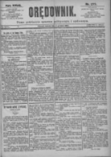 Orędownik: pismo dla spraw politycznych i spółecznych 1897.12.04 R.27 Nr277