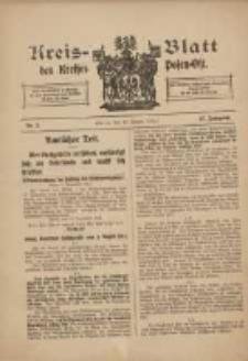 Kreis-Blatt des Kreises Posen-Ost 1915.01.16 Jg.27 Nr3