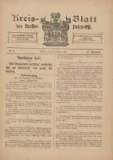 Kreis-Blatt des Kreises Posen-Ost 1915.01.30 Jg.27 Nr5