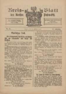 Kreis-Blatt des Kreises Posen-Ost 1915.02.20 Jg.27 Nr10