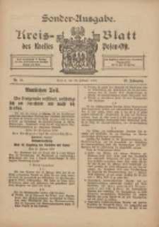 Kreis-Blatt des Kreises Posen-Ost 1915.02.23 Jg.27 Nr11 Sonder Ausgabe