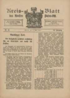 Kreis-Blatt des Kreises Posen-Ost 1915.04.10 Jg.27 Nr19