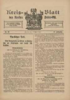 Kreis-Blatt des Kreises Posen-Ost 1915.04.17 Jg.27 Nr20