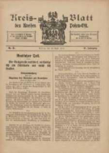 Kreis-Blatt des Kreises Posen-Ost 1915.04.24 Jg.27 Nr21