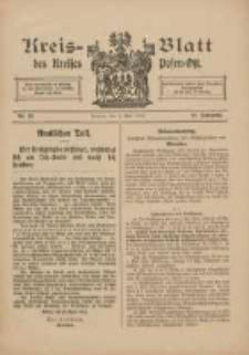 Kreis-Blatt des Kreises Posen-Ost 1915.05.01 Jg.27 Nr22