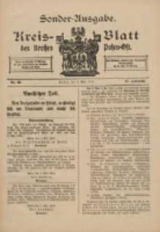 Kreis-Blatt des Kreises Posen-Ost 1915.05.05 Jg.27 Nr23 Sonder Ausgabe