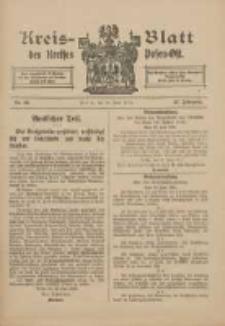 Kreis-Blatt des Kreises Posen-Ost 1915.06.26 Jg.27 Nr34