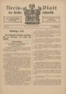 Kreis-Blatt des Kreises Posen-Ost 1915.07.17 Jg.27 Nr37