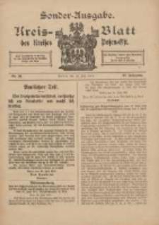 Kreis-Blatt des Kreises Posen-Ost 1915.07.29 Jg.27 Nr39 Sonder Ausgabe