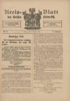 Kreis-Blatt des Kreises Posen-Ost 1915.08.07 Jg.27 Nr41