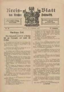 Kreis-Blatt des Kreises Posen-Ost 1915.09.04 Jg.27 Nr46