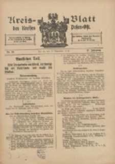 Kreis-Blatt des Kreises Posen-Ost 1915.09.18 Jg.27 Nr49
