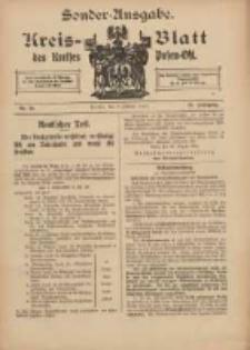 Kreis-Blatt des Kreises Posen-Ost 1915.10.07 Jg.27 Nr54 Sonder Ausgabe