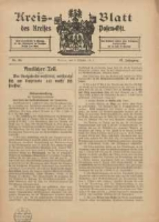 Kreis-Blatt des Kreises Posen-Ost 1915.10.09 Jg.27 Nr55
