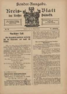 Kreis-Blatt des Kreises Posen-Ost 1915.10.14 Jg.27 Nr56 Sonder Ausgabe